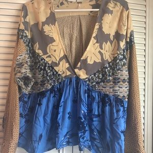 NWT FREE PEOPLE BABY DOLL TOP
